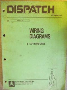 Peugeot 106 Wiring Diagram Manual 342GB0792 Listing in the