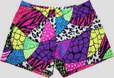 Volleyball Spandex Shorts - Jungle