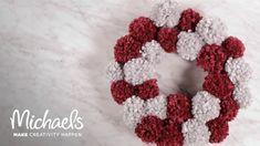 DIY Decor: Pom Pom Wreath   Michaels