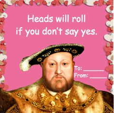 historical(political) valentines