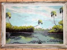 Florida Highwaymen:3 Alfred Hair paintings by artsagclassicnature