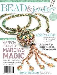 Kerrie Slade: Mix and Match Flower Bracelets! The instructions for my Mix and Match Flower Bracelets are in issue 87 of Bead and Jewellery magazine.