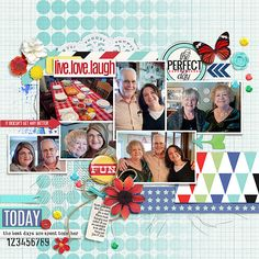 Facets by Studio Rosey Posey http://shop.scrapbookgraphics.com/Facets.html Font is Eyes Wide Open  Watch me scrap this layout: http://youtu.be/ZcgorHm03_Q