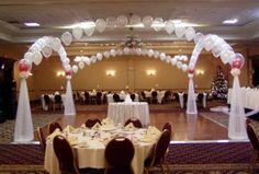 Decoración para aniversario de bodas 1