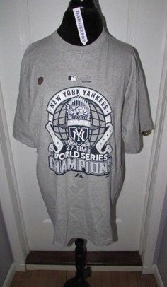 e46e960ea NY New York Yankees World Series Champions 2009 T Shirt Majestic XL