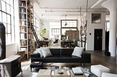 How to Achieve an Industrial Style