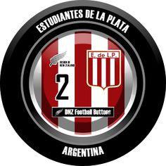 DNZ Football Buttons: Estudiantes de La Plata                                                                                                                                                                                 Mais