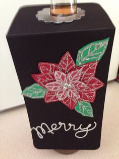 WIne Bottle Tags - Stampin' Up! Joyful Christmas