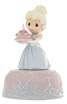 Precious Moments Disney Collection Cinderella Birthday Musical - http://www.preciousmomentsfigurines.org/birthday/precious-moments-disney-collection-cinderella-birthday-musical-3/