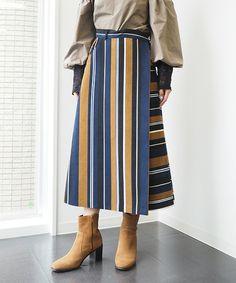 【ZOZOTOWN】Re.Verofonna(ヴェロフォンナ)のスカート「ストライプボーダースカート」(5179606)を購入できます。