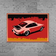 Porsche 935 Art Print i recently finished.  https://www.etsy.com/listing/259263955/aircooled-legend