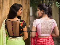 Latest Blouse Designs 2019 For Girls, saree and lehenga are the icon of Indian fashion and represent the Indian cultures among the people who are living all around the world. Choli Designs, Fancy Blouse Designs, Indian Bridal Fashion, Bollywood Saree, Indian Sarees, Bridal Style, Lehenga, Pretty, How To Wear