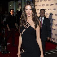 Victoria's Secret Angel Alessandra Ambrosio Rocks Little Black Dress