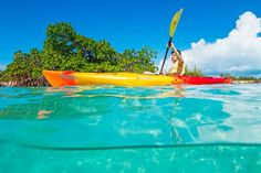 Kayaking on Grand Turk, Turks and Caicos Islands