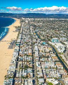 Venice California by @losangelesaerial by CaliforniaFeelings.com california cali LA CA SF SanDiego