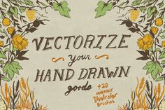 Vectorize Your Hand Drawn Goods+More - Actions - 1