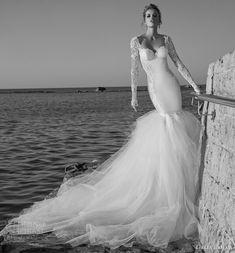 Galia Lahav Spring 2015 Wedding Dresses | Pink and Milk