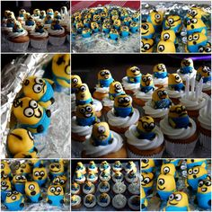 Minion Cupcakes (Despicable Me)