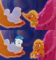 Baby Hercules and Pegasus!