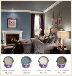 Learn how the #colors in your #bedroom can affect your sleep. #BEHRPAINT