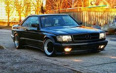 W126 Mercees-Benz 560SEC AMG 6.0 Widebody | BENZTUNING