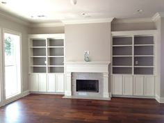 paint colors, shelv, accent colors, gray paint, fireplace makeovers