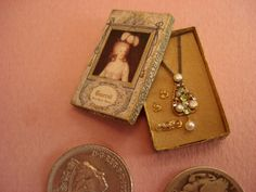 dollhouse miniatures handmade original jewelry by Chanel