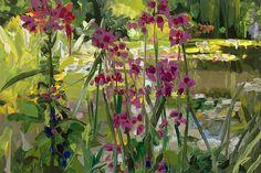 ratak-monodosico: Jan De Vliegher (Belgian, b. 1964), Garden 7, 2014. Oil on canvas, 80 x 120 cm.