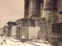 Templo de San Agustin en 1972 en la calle Corregidora.