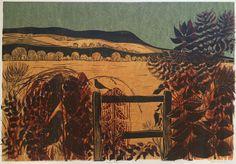 Hedgerow & Downs by Robert Tavener