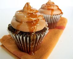 Chocolate & Salted Caramel Cupcakes