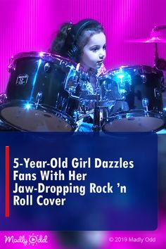 Old Girl Dazzles Fans With Her Jaw-dropping Rock 'n Roll Cover Got Talent Videos, Music Genius, Country Music Videos, Classic Songs, Entertainment Video, Janis Joplin, Van Halen, 5 Year Olds, Kinds Of Music