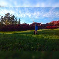 Handstand  #handstand #yoga #yogafit #yogamom #yogagirl #yogalife #yogaeverydamnday #yogaeveryday #yogaeverywhere #yogaaddict #yogachallenge #yogalove #yogapose #stralaeverywhere