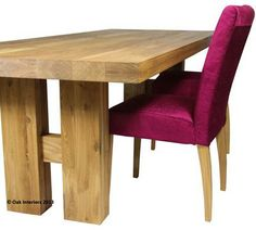 Solid oak dining tables - Made to measure dining tables.