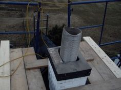 Chimneys are constructed of multiple masonry materials giving it much thickness. The passage way that conveys flue gases and excess heat is called a flue. This flue is the part of the chimney that needs sweeping to remove excess creosote from the system. Creosote is the flammable by-product of incomplete combustion that adheres itself to the walls of the flue.