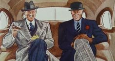 Fashion illustrations have always been an integral part of the Gentleman's Gazette, because we adore the classic 1930's men's style and at that time fashion illustrations were probably at their peak....