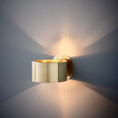 Humble Wall Light Brass — Auhaus Architecture