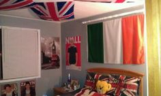 My one direction room @One Direction