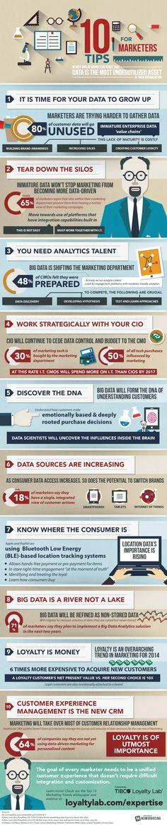 Top 10 Trends Marketing #infografia #infographic #marketing