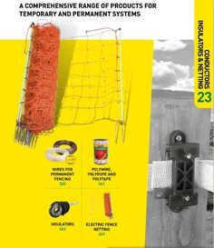 A comprehensive range of products for temporary and permanent electric fencing systems. Available from BirkdaleSales.com