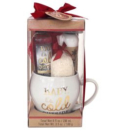 The 5 & Twine™ Ceramic Mug Set Winter Wishes | Christmas gift