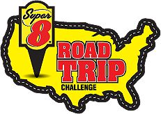 Sweepstakes--- Super 8 Road Trip Challenge Instant Win Game.  Daily entry, ends November 18, 2012.