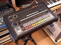 Roland TR-808 The best looking drum machine ever!