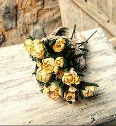 Ramo doce rosas por minismarillum en Etsy