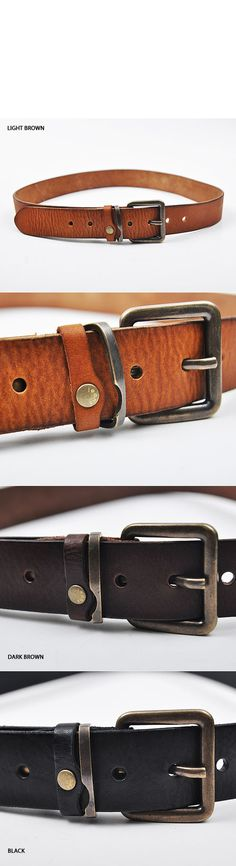 Accessories :: Vintage Washed Cowhide Jean Belt-Belt 70 - Mens Fashion Clothing For An Attractive Guy Look