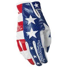 Troy Lee Fonda Gloves to match my American flag helmet
