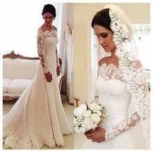 White Lace Wedding Dress, Lace Mermaid Wedding Dress, Elegant Wedding Dress, Perfect Wedding Dress, Mermaid Dresses, Bridal Lace, Bridal Gowns, Lace Dress, Dress Wedding