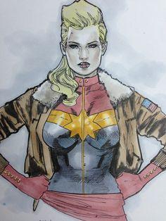 Captain Marvel - Clay Mann