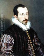 Bartolomeo Passarotti: Portrait of a Young Man, c.1585