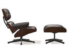 Vitra Lounge Chair and Ottoman - Designcollectors.com